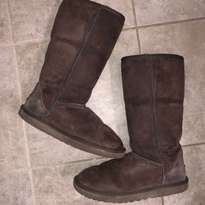 Classic Brown Ugg Boots Size 8